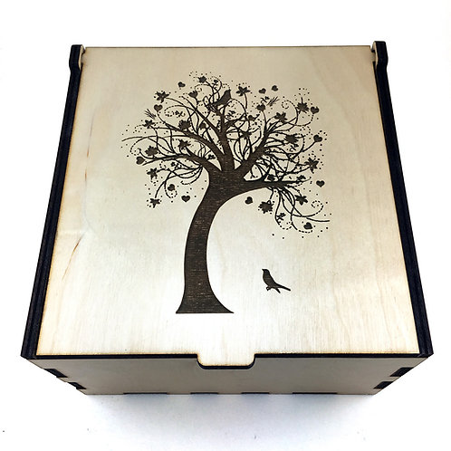 Swaying Tree Essential Oil Storage Box - Small