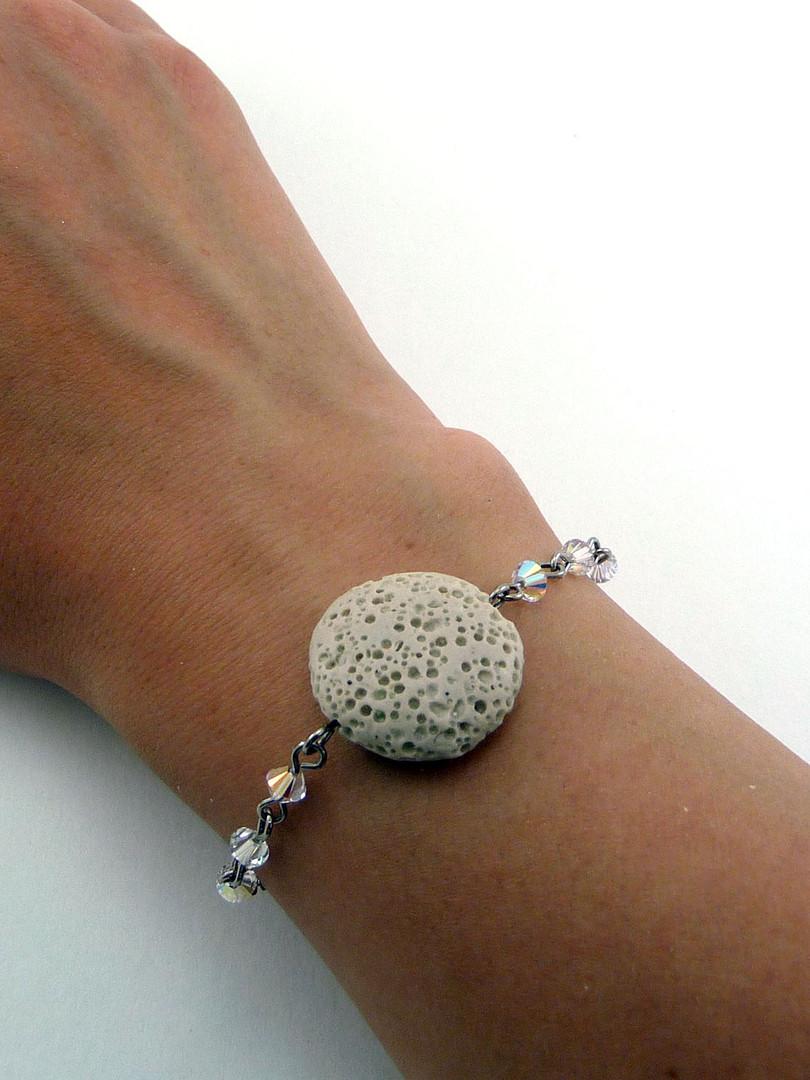 Tan Lava Bracelet