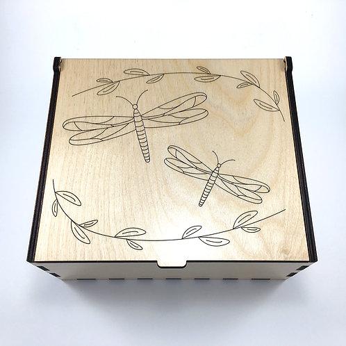 Dragonflies Essential Oil Storage Box - Medium