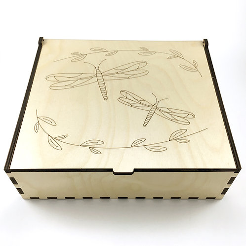Dragonflies Essential Oil Storage Box - Large