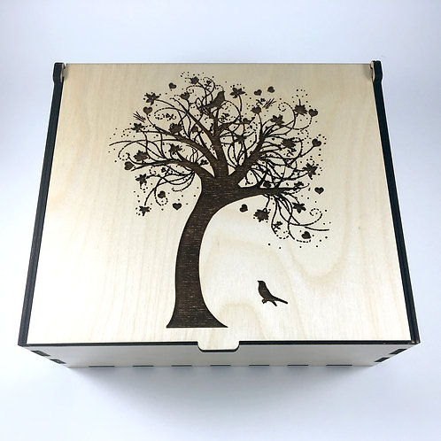 Swaying Tree Essential Oil Storage Box - Medium