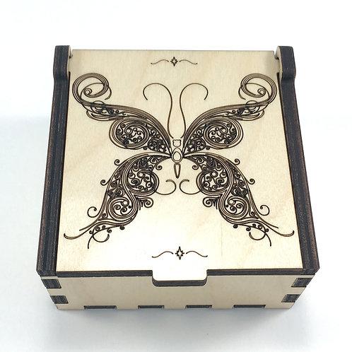 Swirl Butterfly Jewelry Box
