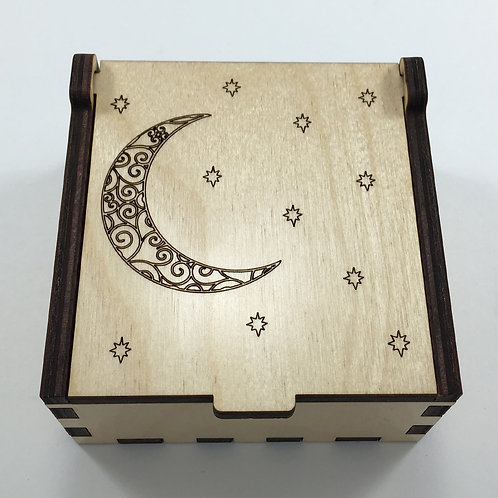 Moon and Stars Jewelry Box