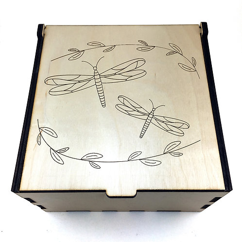 Dragonflies Essential Oil Storage Box - Small