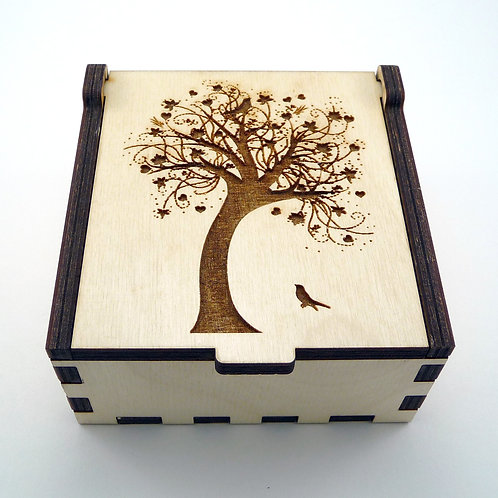 Swaying Tree Jewelry Box