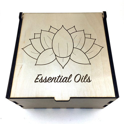 Lotus Flower Essential Oil Storage Box - Small
