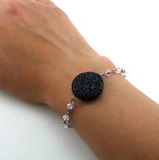 Black Lava EO Bracelet