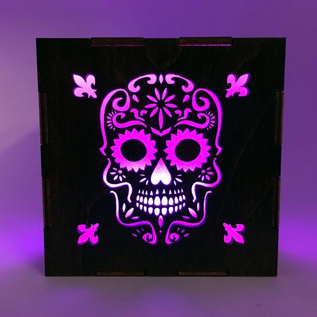 Sugar Skull Lantern