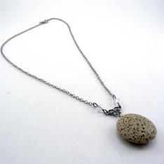 Tan Lava Necklace