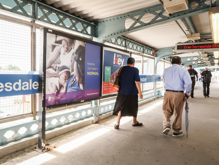 """Philadelphia Billboards, Bus Cards and Train Platforms Share a """"Feeding your Baby is NORMAL&#8"""