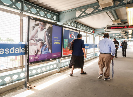 "Philadelphia Billboards, Bus Cards and Train Platforms Share a ""Feeding your Baby is NORMAL&#8"