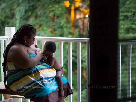 52 Candid Moments Exude Black Breastfeeding Feels from the #NBFtour