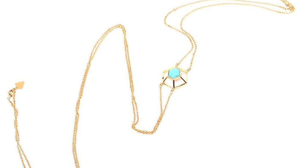 Turquoise Howlite Body Chain