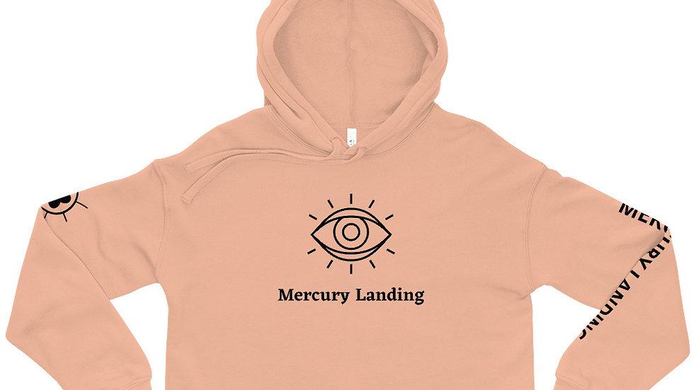 Mercury Landing Crop Hoodie