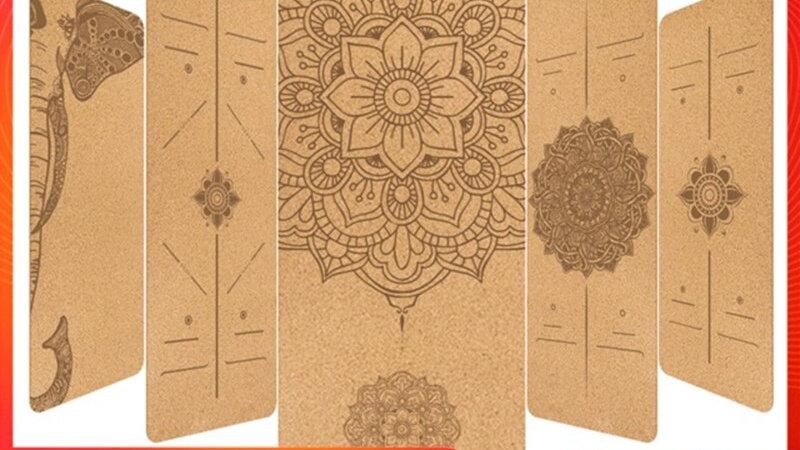 TPE Cork Yoga Mat