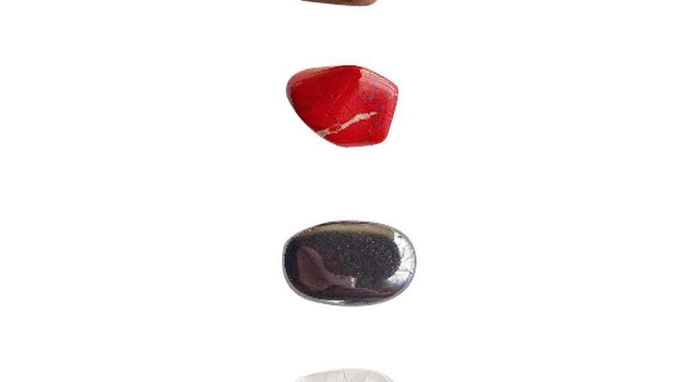Strength * Rose Quartz, Aquamarine, Moonstone & Carnelian