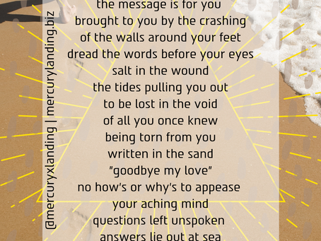Out To Sea (a poem)