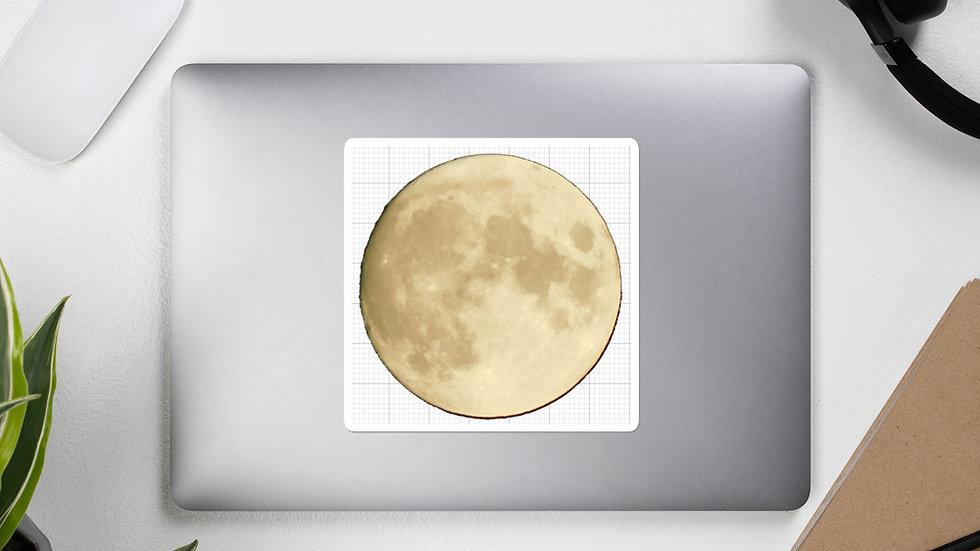 8/31/20 Aquarius Waxing Gibbous Bubble-free stickers