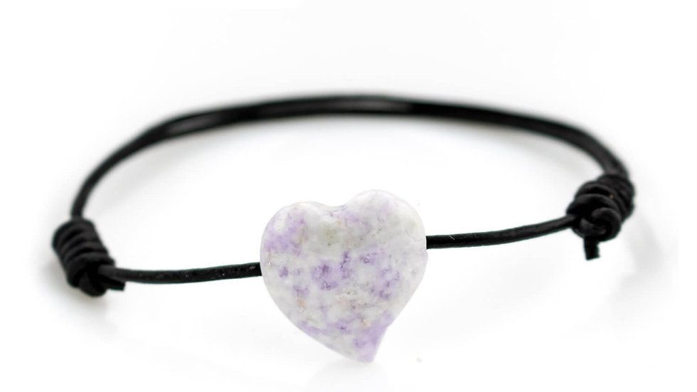 Heart Lilac Jade Love Collection