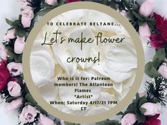 TAF -- Let's make flower crowns!