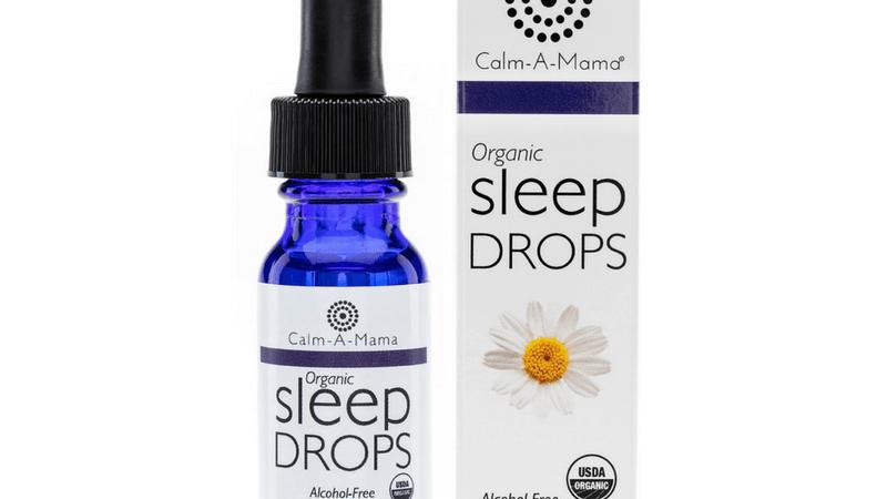 Sleep Drops - USDA Organic - Pregnant or Nursing Mom & Baby Safe