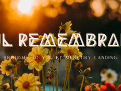 New offering -- Soul Remembrance