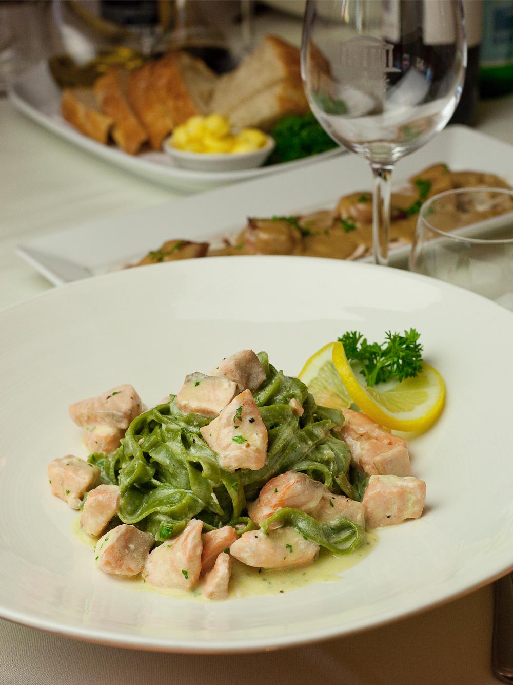 Viale Canova | Salmon Pasta