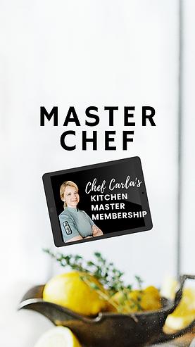 Chef Carla's Kitchen Master Membership M