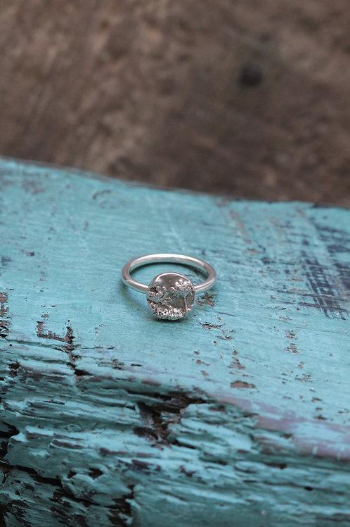 Silver Agapanthus Ring