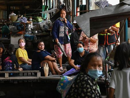 En Thaïlande, le Covid propage la pauvreté et la famine