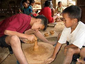 Le-village-des-potiers banjan Pulu isaan