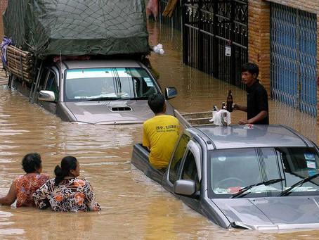 18 000 foyers affectés par des inondations dans le sud de la Thaïlande