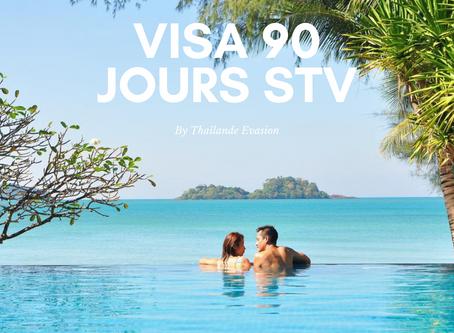Visa touristique spécial pour la Thaïlande : les détails, modalités et frais Procédure STV (90jours)
