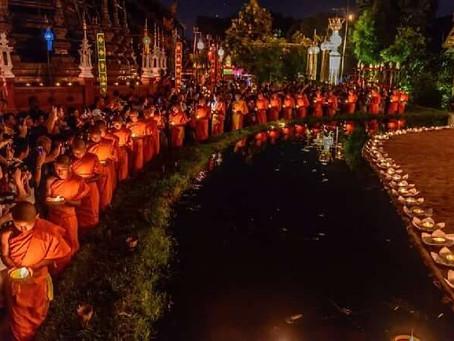 Ok Phansa fête bouddhiste le 13 octobre 2019