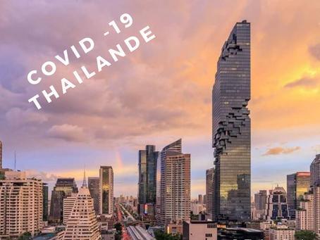 La Thaïlande enregistre 212 nouveaux cas de COVID-19