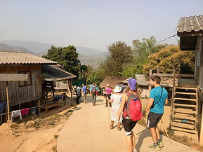 Trek Chiang Rai Thailande Evasion