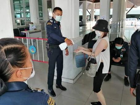 La Thaïlande enregistre un record de 959 cas de Covid-19.