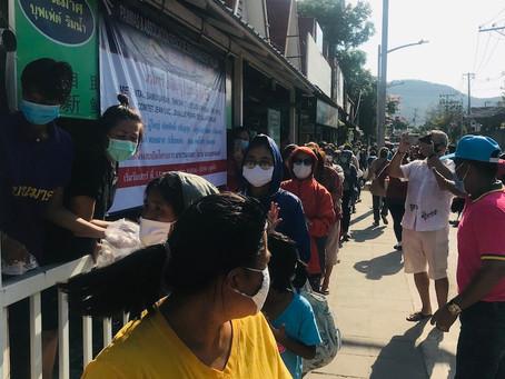 KOH SAMUI - SOLIDARITÉ : Unis et solidaires face au coronavirus: la communauté française donne l'exe