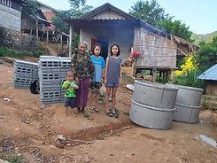 Construction bloc sanitaire Association