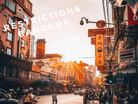 Bangkok entame une nouvelle période de restrictions
