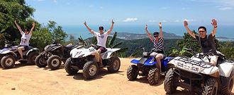 Quad et Buggy Ko Samui Thailande Evasion