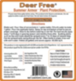 Deer Free Summer Armor by Garden Girls Repellents LLC.