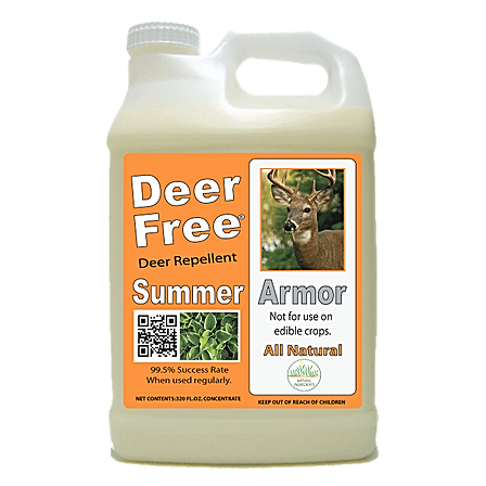 Deer Free Summer Armor by Garden Girl Repellents LLC.