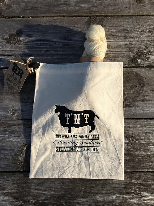 Mini Skein & Yarn Stash Bag