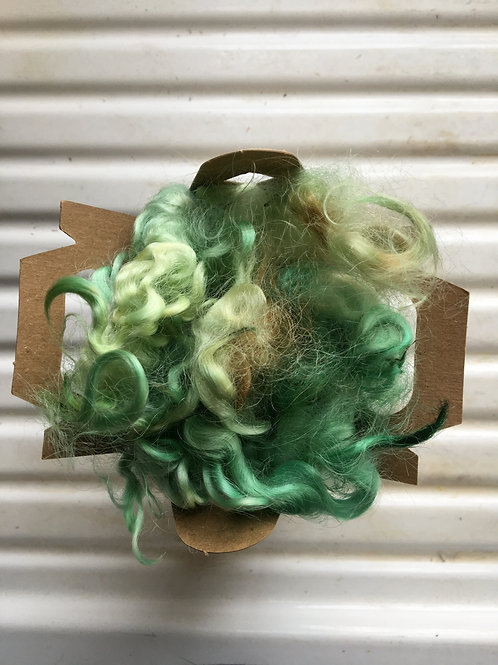 Locks-dyed and undyed