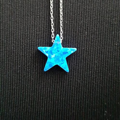 Collier et pendentif étoile