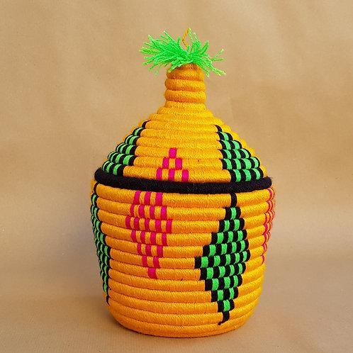 Corbeille berbere flashy lemon