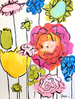 Whimsical Flowers no. 1