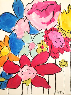 Whimsical Flowers no. 2