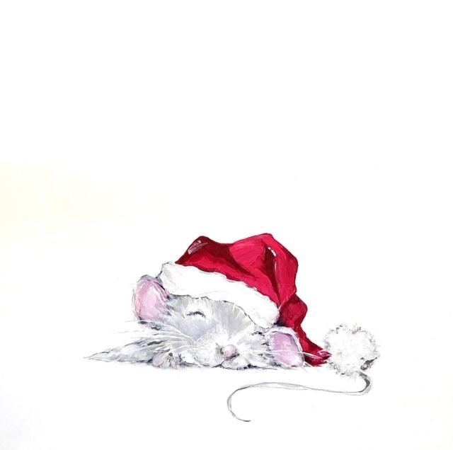 Christmas Mouse 001